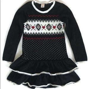 Gymboree Fair Isle Sweater Dress Girls